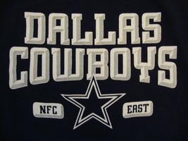 NFL Dallas Cowboys National Football League Team Apparel Blue Youth T Shirt M - $13.53