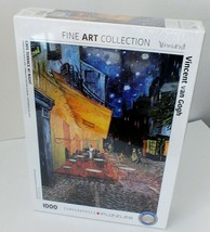 Vincent Van Gogh Cafe Terrace At Night 1000 PC Jigsaw Puzzle-Fine Art Collection - $21.00