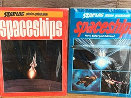 Vintage set of 2 STARLOG SPACESHIPS Science Fiction Sci Fi Books 1977 an... - $19.75