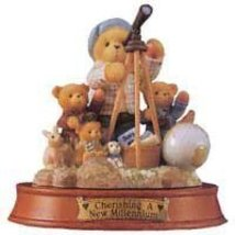 Cherished Teddies WINFIELD Resin Teddy Bear Millennium 476811 by Enesco ... - $21.78