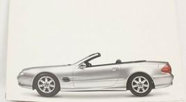 2002 Mercedes Benz SL Sales Mailer Brochure Last SL Made - $7.33