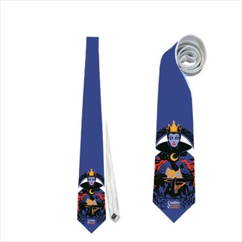 Necktie tie Queen Grimhilde snow white