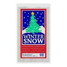 FloraCraft Faux Snow 4 Liters White 4 Liter - $12.91