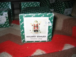 Fitz & Floyd Holiday Hamlet Santa Claus 19/746 with box - $35.00