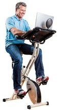 FitDesk 2.0 Desk Exercise Bike With Massage Bar - £283.58 GBP