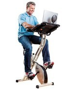 FitDesk 2.0 Desk Exercise Bike With Massage Bar - £280.34 GBP