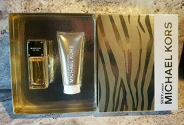 Michael Kors Sexy Amber Gift Set EDP Spray 1.7oz + Ultimate Body Lotion 3.4oz - $79.99