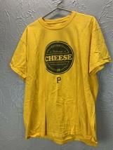 Pittsburgh Pirates Gourmet Cheese Coke Coca Cola Promo SGA shirt XL Yell... - £10.10 GBP
