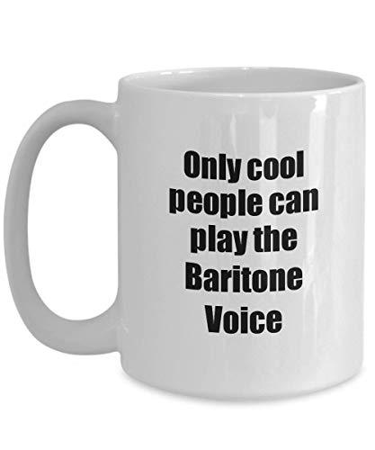 Primary image for Baritone Voice Player Mug Musician Funny Gift Idea Gag Coffee Tea Cup 15 oz