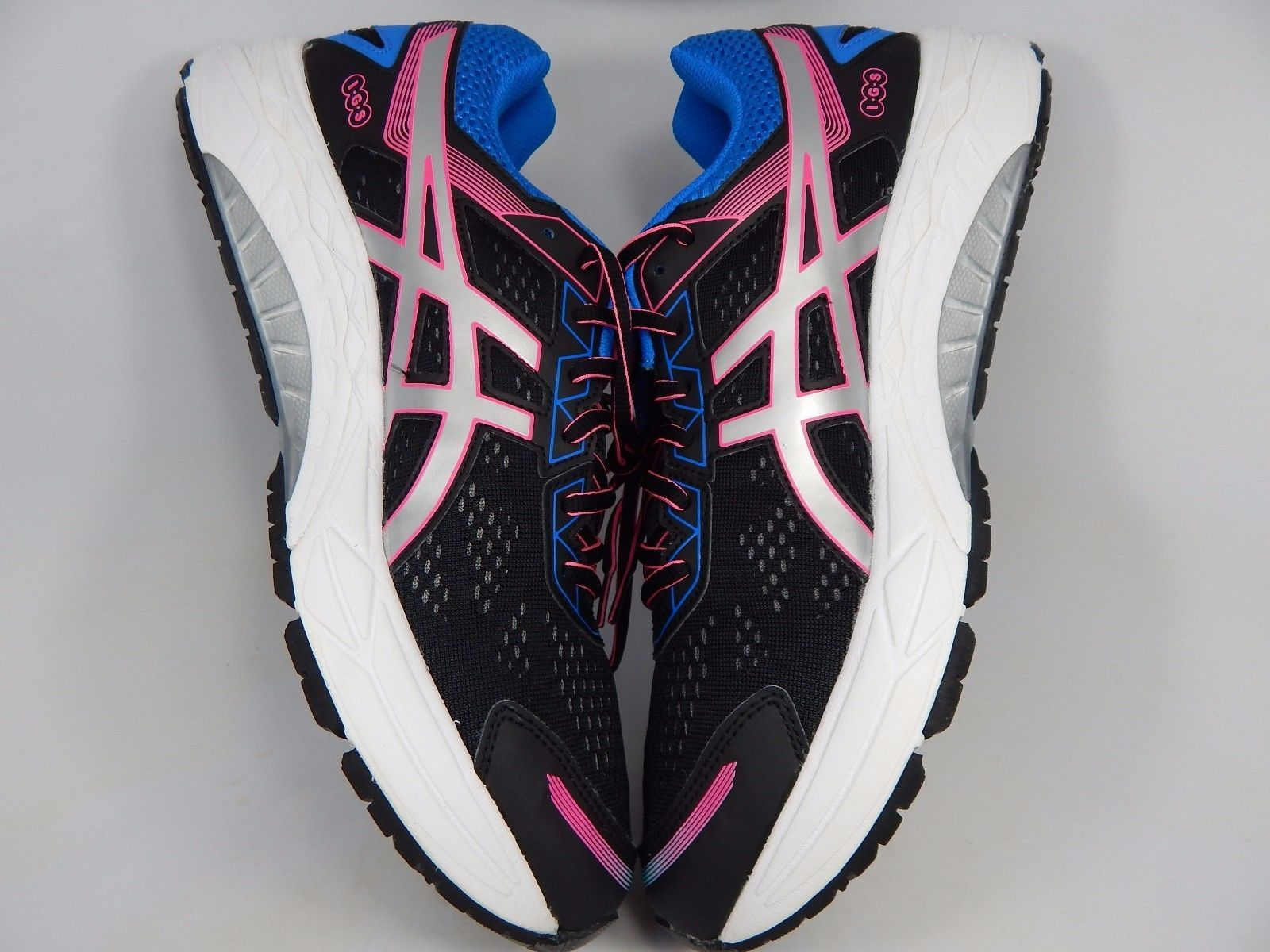 Asics Gel Foritude 7 Women's Running Shoes Size US 12 M (B) EU 44.5 Black T5G7N