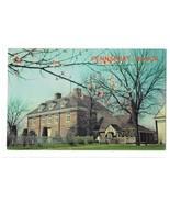PA Pennsbury Manor Home of William Penn Bucks County Vintage WYCO Postcard - $6.69