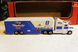 RACING CHAMPIONS 1/64 SCALE #8- RAYBESTOS TRANSPORTER - D/C CAB - MINT -S1 - $14.65