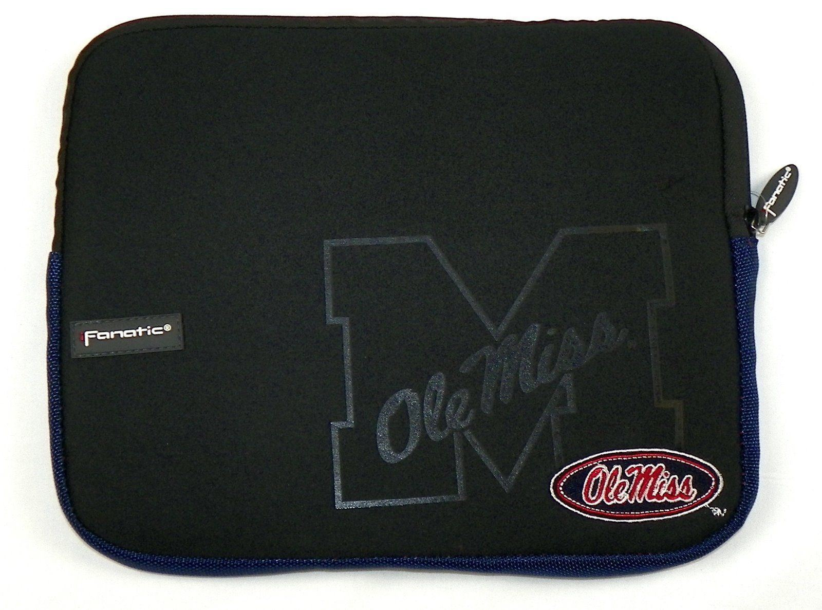 "Ole Miss Rebels Tablet Computer Sleeve Case Soft Top Bag 11"" x 8.5"" Universal"