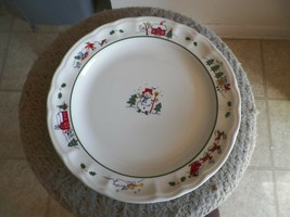 Pfaltzgraff Snow Village dinner plate 19 available - $6.19