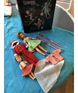 VINTAGE IDEAL 1960's Original TAMMY & Pepper? Dolls Labled Clothes & Cas... - $99.99