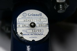 Grinnell WC-8101-3 Series 8000 Butterfly Valve New image 2