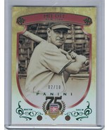 2014 Panini Hall of Fame Red Frame Green #02/10 #24  (C2952) - $22.46