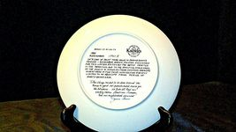 """1984 """"A Coat of Paint"""" by Jeanne Down Plate with Box ( Knowles ) AA20-CP2192 Vin image 7"""