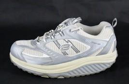 Skechers Moldeadoras Mujer Zapatos Encaje Blanco Senderismo Trabajo Talla 9.5 - $27.07