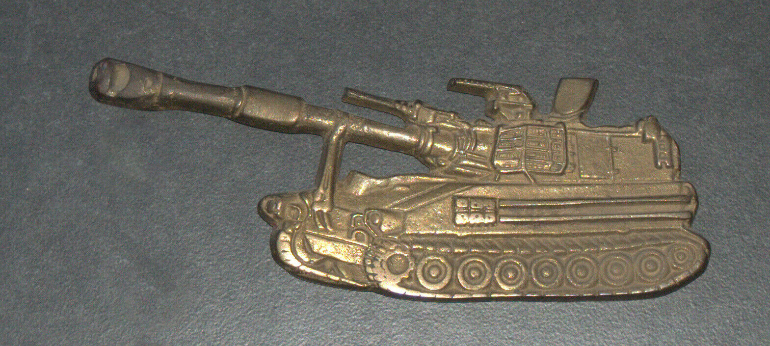 IDF Zahal Honor Shield Armored Forces Vintage Tank Bronze Figurine Israel