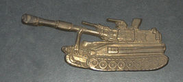 IDF Zahal Honor Shield Armored Forces Vintage Tank Bronze Figurine Israel  image 1