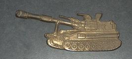 IDF Zahal Honor Shield Armored Forces Vintage Tank Bronze Figurine Israel