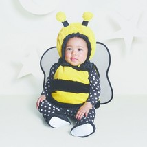 NEW NWT Boys or Girls Baby Bumble Bee 0-6 Months 4 Piece Set Vest Booties - $19.99