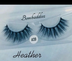 3d mink lashes Fluffy - $14.85