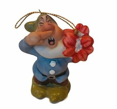 Sneezy Ornament Snow White Seven Dwarfs Christmas Schmid Disney Figurine... - $23.71