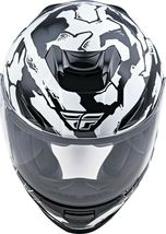 XS Fly Racing Sentinel Ambush Motorcycle Helmet Camo/Black/White DOT & ECE  image 4