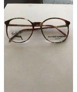 VTG New Trendies Multi-color Burgundy Plastic Rx Eyeglass Frames 54-18-140 - $10.00