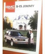 1988 CANADIAN GMC S-15 JIMMY SALES BROCHURE.... - $5.93