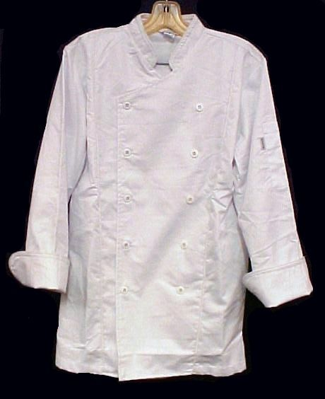 White Chef Jacket XL Coat CIA Culinary Institute America New Style 9601 image 3