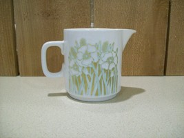 "Vintage Hornsea Fleur Pattern Creamer 1970's Made in England 3 1/2"" Tall - $14.85"