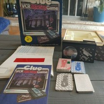 VINTAGE CLUE VCR Mystery Game VHS 1985 Parker Brothers Complete Beta fo... - $13.30
