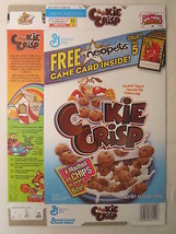 Empty Cereal Box COOKIE CRISP 2004 GENERAL MILLS 12.25 oz neopets [G7C12f] - $6.72