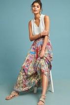 Anthropologie Hemant & Nandita Louvre Floral Paneled Maxi Skirt Size XS NWT - $98.01