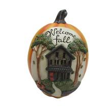 """10""""H Welcome Fall Pumpkin Halloween Decoration - $21.62"""