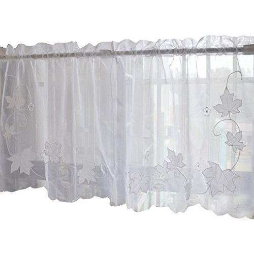 Primary image for George Jimmy Sweet Embroidered Curtain Kitchen Curtain Coffee Screens- 05