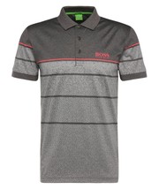 NEW HUGO BOSS MEN'S PADDY PRO 2 PREMIUM COTTON POLO SHIRT T-SHIRT GRAY 50316390