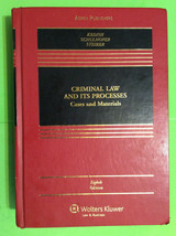 CRIMINAL LAW AND ITS PROCESSES - EIGHTH EDITION - HARDCOVER - $200.00