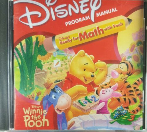 Disney Ready for Math with Winnie the Pooh PC CD-Rom