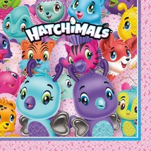 Hatchimals Lunch Napkins Birthday Party Supplies 16 Per Package New - $3.71