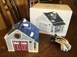 Department Dept 56 Snow Village Single Car Garage #51250 Box Lighted - $13.49