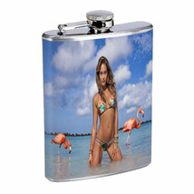 Cuban Pin Up Girls D5 Flask 8oz Stainless Steel Hip Drinking Whiskey - $12.82