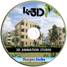 NEW & Fast Ship! K-3D 3D Modeling and Animation Studio Software - Window... - $11.67