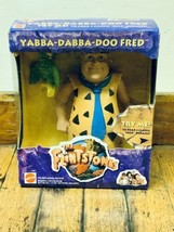 "The FLINTSTONES 1993 - YABBA-DABBA-DOO Fred Flintstone 8"" Action Figure - $19.79"