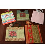 Lot of 5, Brand New! Large Size Gift Bags (Renaissance, American Greetin... - $9.95