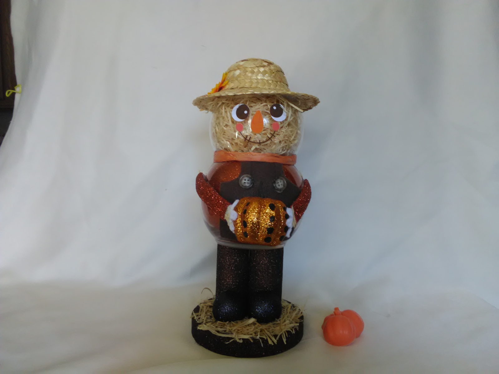 Primary image for Handmade Glass Scarecrow