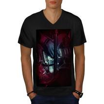 Bass Guitar Artist Music Shirt Music Concert Men V-Neck T-shirt - $12.99+